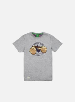 Cayler & Sons - Purple Haze T-shirt, Grey Heather/Purple/Multi 1