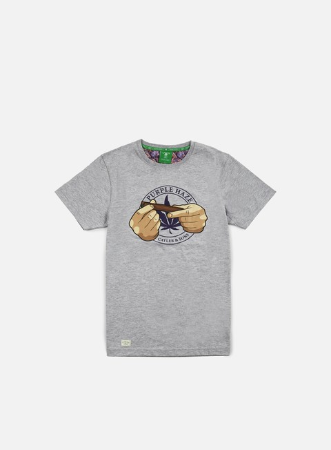 T-shirt a Manica Corta Cayler & Sons Purple Haze T-shirt
