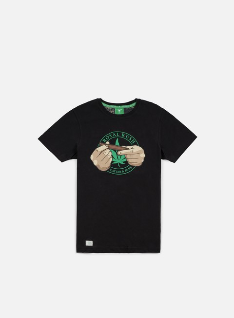 t shirt cayler e sons royal kush t shirt black green multi