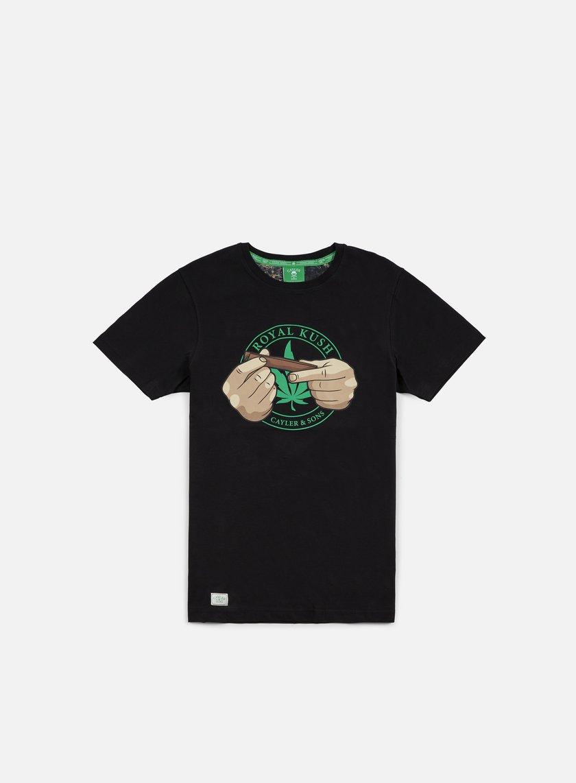 Cayler & Sons - Royal Kush T-shirt, Black/Green/Multi