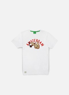 Cayler & Sons - The Dam T-shirt, White/Red/Multi 1
