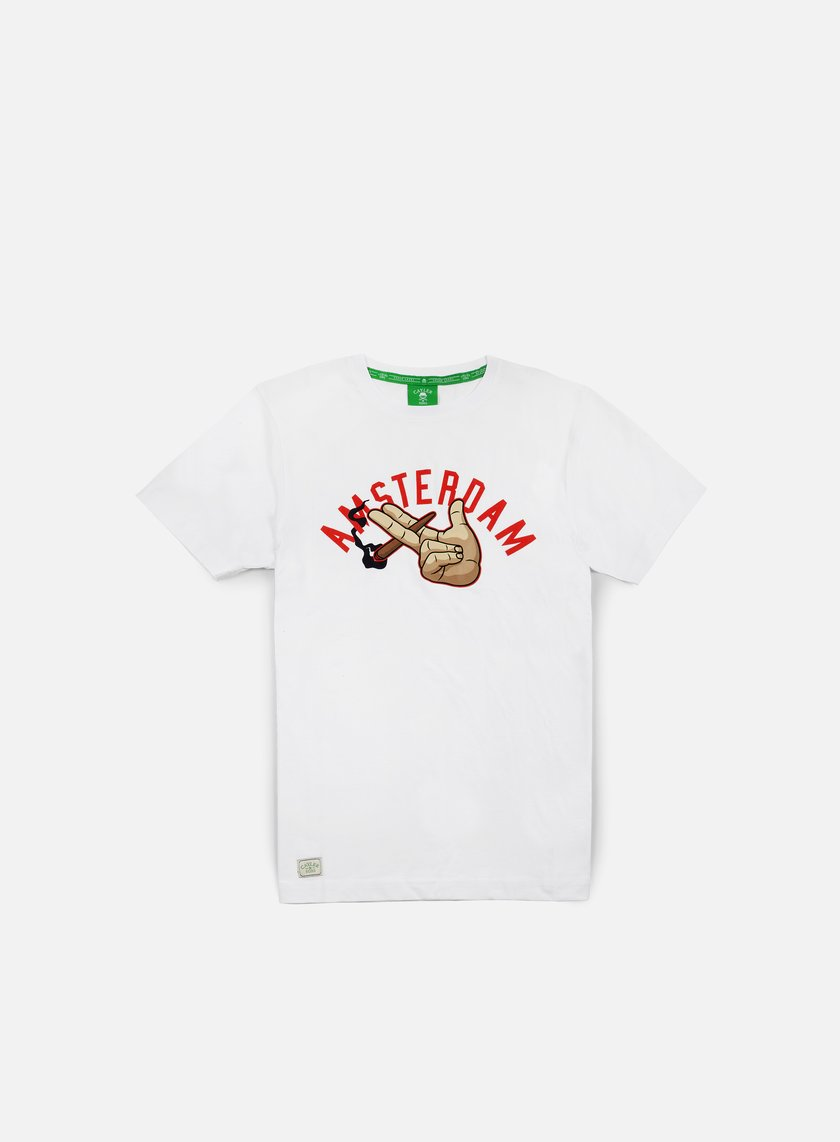 Cayler & Sons - The Dam T-shirt, White/Red/Multi
