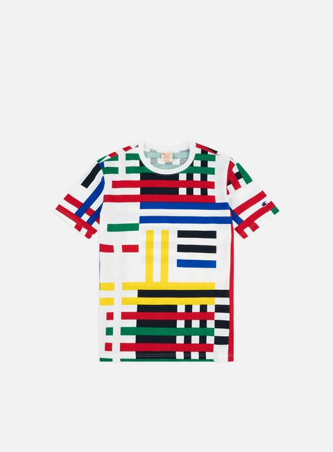Outlet e Saldi T-shirt a Manica Corta Champion All Over Print T-shirt