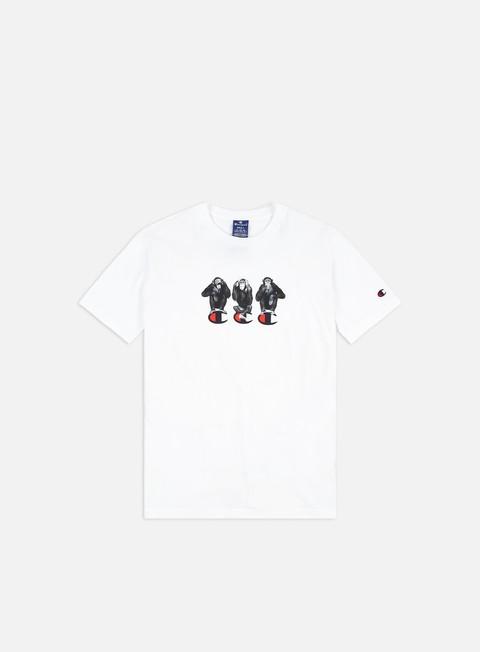 Short Sleeve T-shirts Champion Animal Graphics Print T-shirt