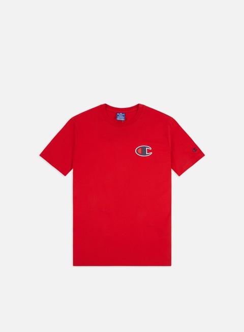 Outlet e Saldi T-shirt a Manica Corta Champion C Logo T-shirt