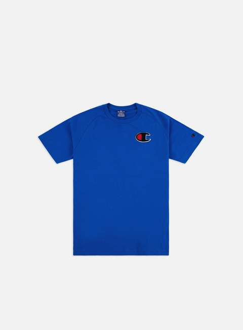 Short Sleeve T-shirts Champion Chenille C Logo T-shirt