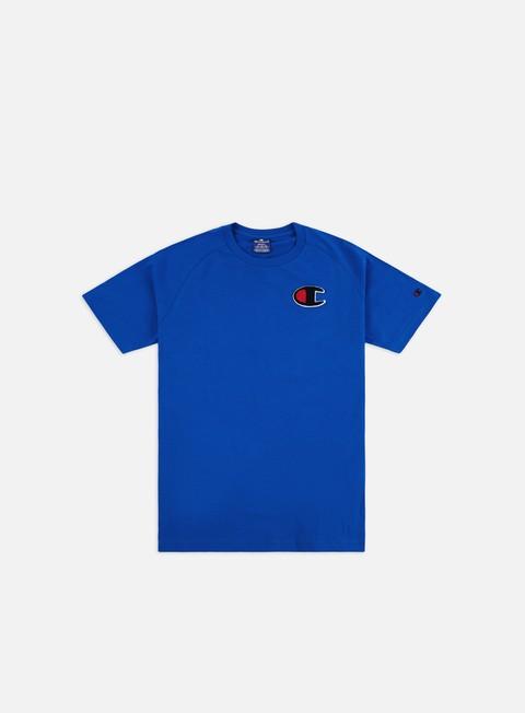 Outlet e Saldi T-shirt a Manica Corta Champion Chenille C Logo T-shirt