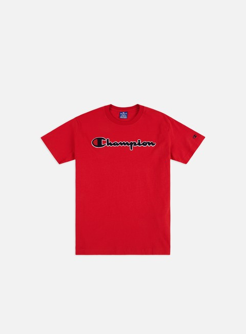 Short Sleeve T-shirts Champion Chenille Logo T-shirt