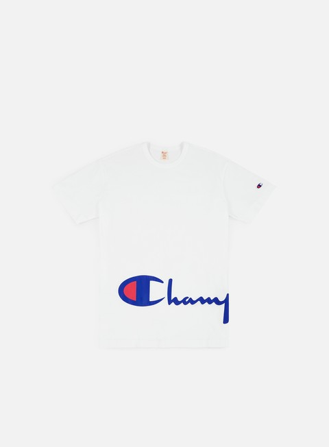 t shirt champion crewneck t shirt white