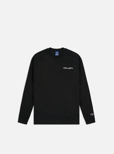 Champion Embroidered Logo LS T-shirt