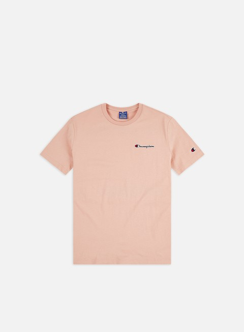 T-shirt a Manica Corta Champion Embroidered Logo T-shirt