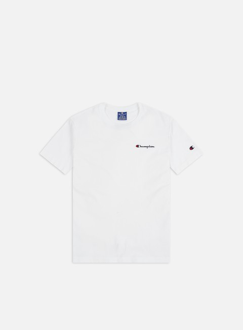 Sale Outlet Short Sleeve T-shirts Champion Embroidered Logo T-shirt