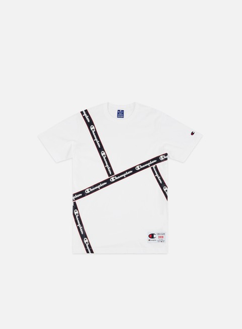 Short Sleeve T-shirts Champion Front Taped T-shirt