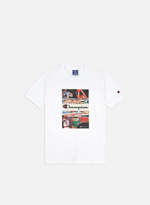 Short Sleeve T-shirts Champion Graphics Sports T-shirt