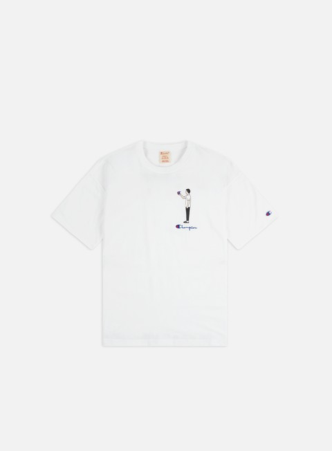 Outlet e Saldi T-shirt a Manica Corta Champion Illustration 1 Crewneck T-shirt