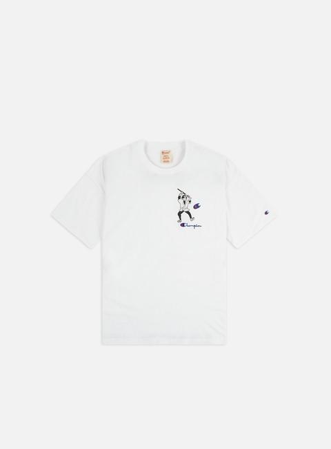 Outlet e Saldi T-shirt a Manica Corta Champion Illustration 2 Crewneck T-shirt