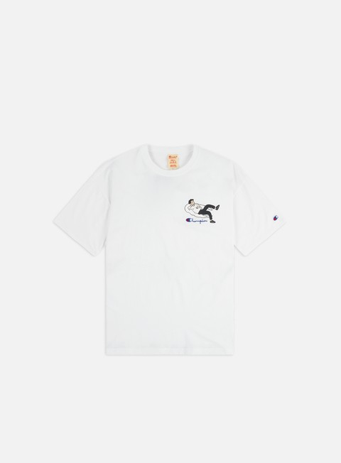 Outlet e Saldi T-shirt a Manica Corta Champion Illustration 3 Crewneck T-shirt