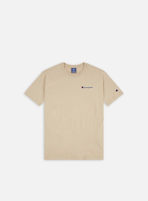 Short Sleeve T-shirts Champion Logo Chest Embroidery T-shirt