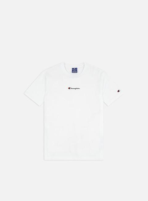 Short Sleeve T-shirts Champion Oversized Script Logo Print T-Shirt