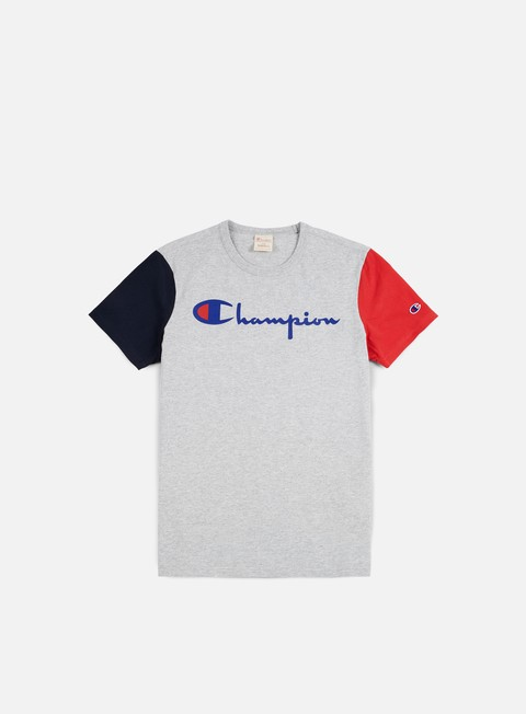 Short Sleeve T-shirts Champion Reverse Weave Contrast T-shirt