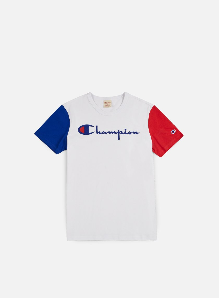 Champion - Reverse Weave Contrast T-shirt, White