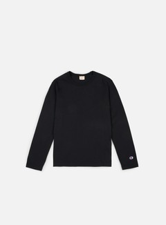 Champion - Reverse Weave LS T-shirt, Black 1