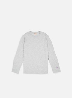 Champion - Reverse Weave LS T-shirt, Heather Grey