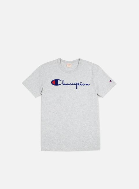 T-shirt a Manica Corta Champion Reverse Weave Script T-shirt