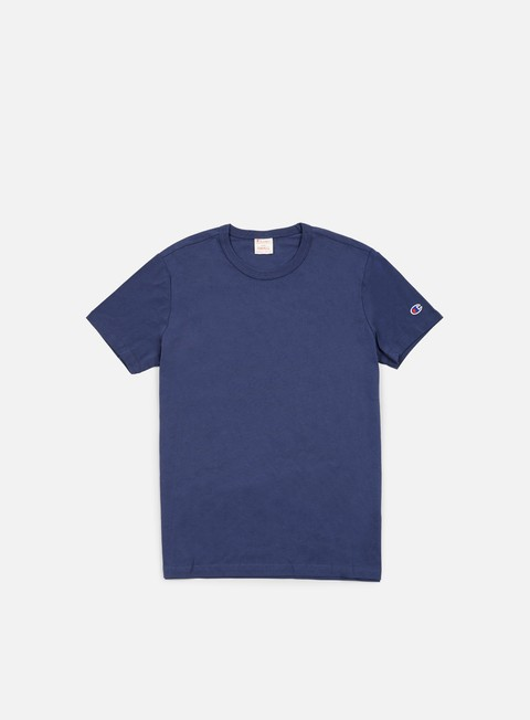 t shirt champion reverse weave t shirt blue