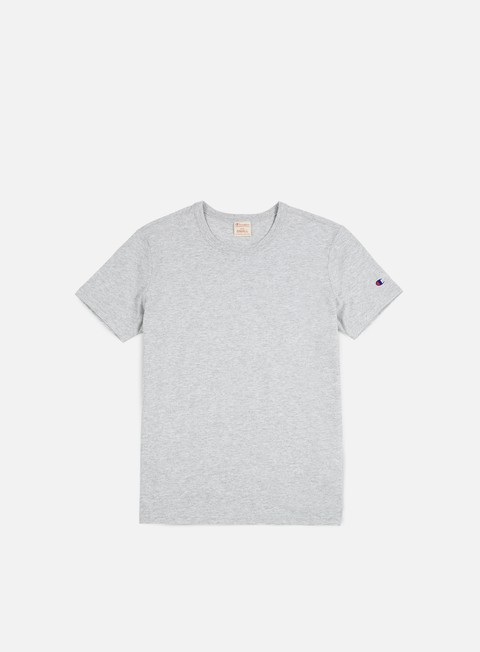 t shirt champion reverse weave t shirt heather grey