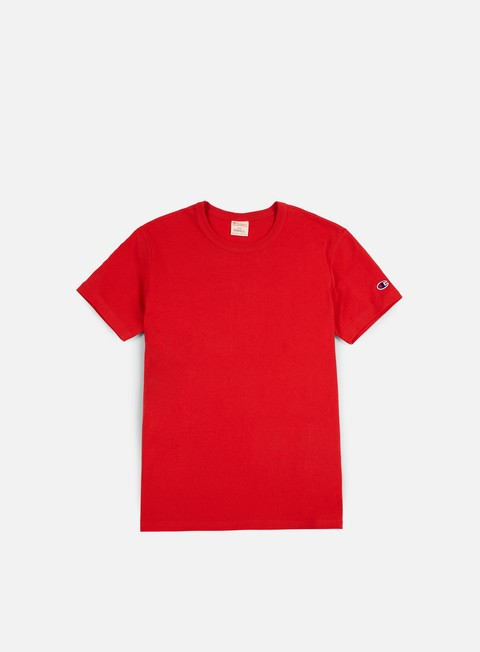 t shirt champion reverse weave t shirt red