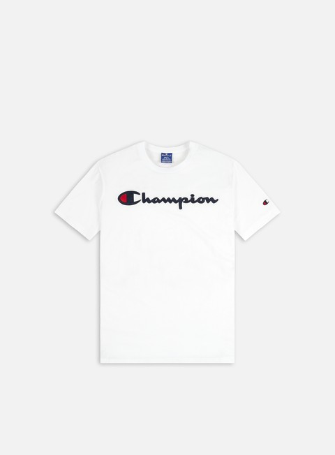 Champion Satin Script Logo T-shirt