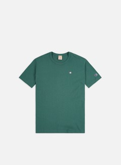 Champion - Small C Logo T-shirt, Teal Blue