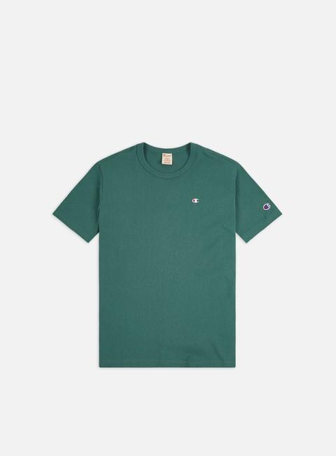 Outlet e Saldi T-shirt a Manica Corta Champion Small C Logo T-shirt