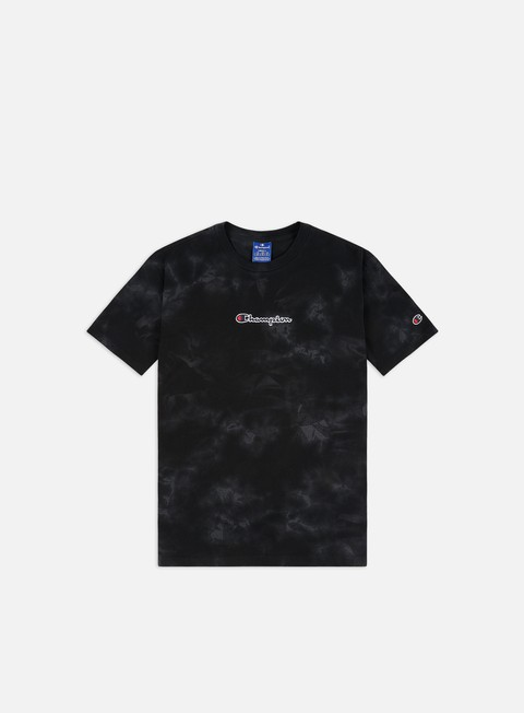 Short Sleeve T-shirts Champion Tie Dye Logo T-shirt