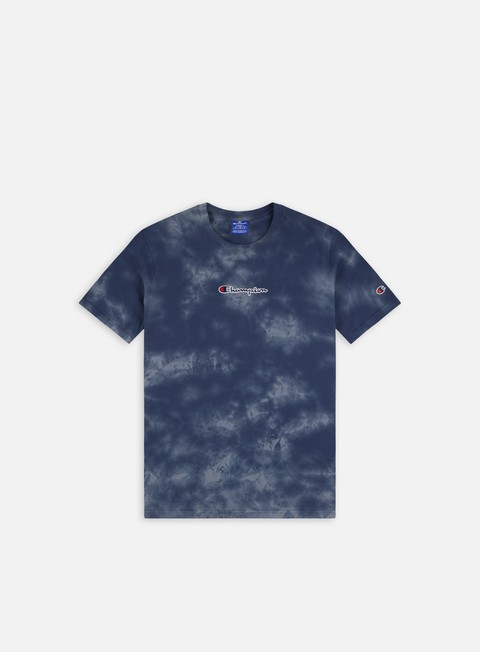 Short Sleeve T-shirts Champion Tie Dye Logo T-shirt