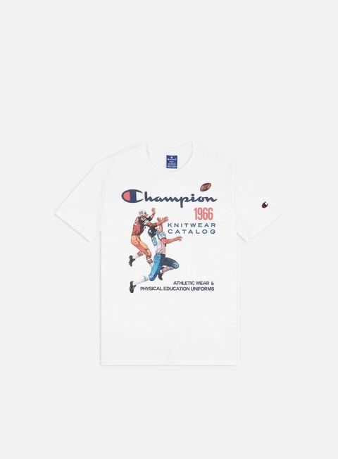 Short Sleeve T-shirts Champion Vintage Cover Print T-shirt