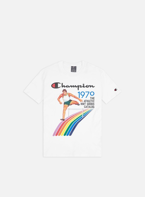 Sale Outlet Short Sleeve T-shirts Champion Vintage Cover Print T-shirt