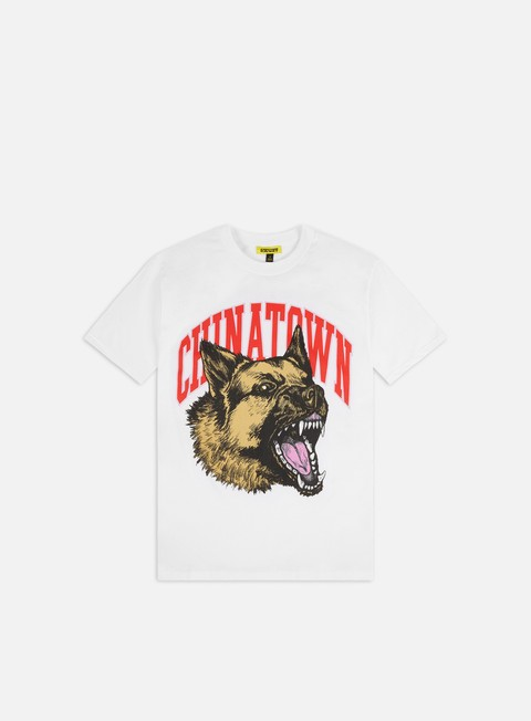 Outlet e Saldi T-shirt a Manica Corta Chinatown Market Beware T-shirt