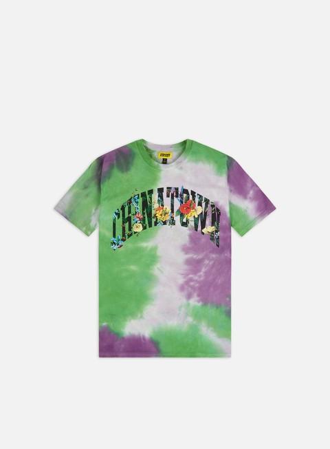 Short Sleeve T-shirts Chinatown Market Chinatown Flower Arc T-shirt