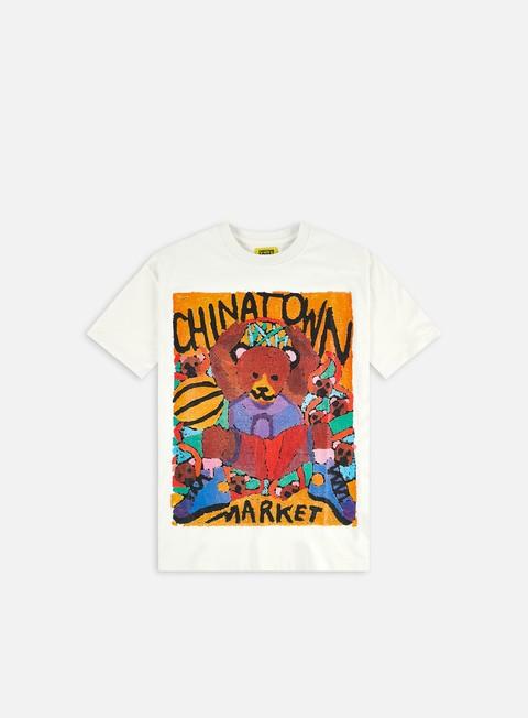 Short sleeve T-shirts Chinatown Market Dunking Bear Watercolor T-Shirt