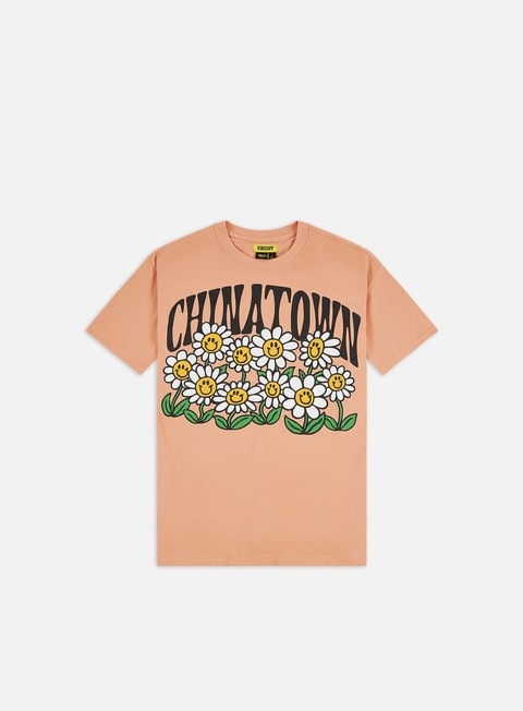 Short Sleeve T-shirts Chinatown Market Flower Power T-shirt