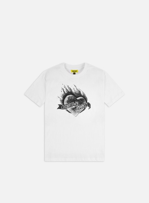 Short Sleeve T-shirts Chinatown Market Heart T-shirt