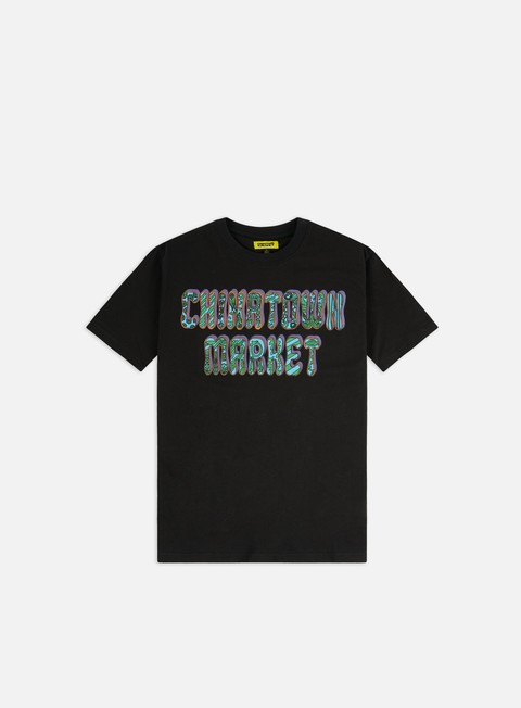Short Sleeve T-shirts Chinatown Market Hippie T-shirt