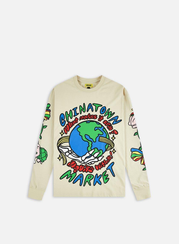 Chinatown Market Inquire From Within Bone LS T-shirt