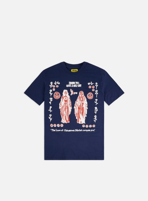 Short Sleeve T-shirts Chinatown Market Jesues Mary T-shirt