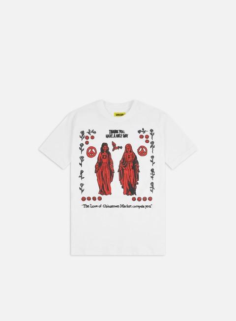 T-shirt a Manica Corta Chinatown Market Jesues Mary T-shirt