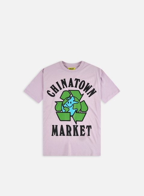 Short sleeve T-shirts Chinatown Market Recycle Global T-Shirt