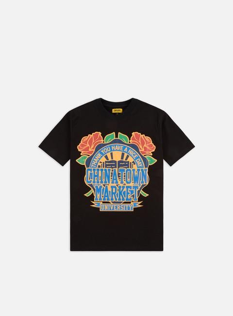 Short Sleeve T-shirts Chinatown Market Rose Garden T-shirt