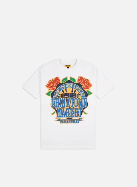 Short Sleeve T-shirts Chinatown Market Rose Garden T-shirt
